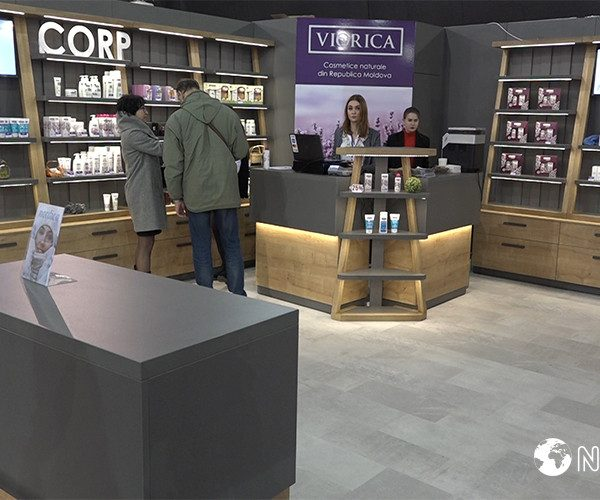 Viorica-Cosmetic amazed the visitors of the exhibition at Moldexpo with exclusive products from the new line