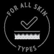 Pentru toate tipurile de piele