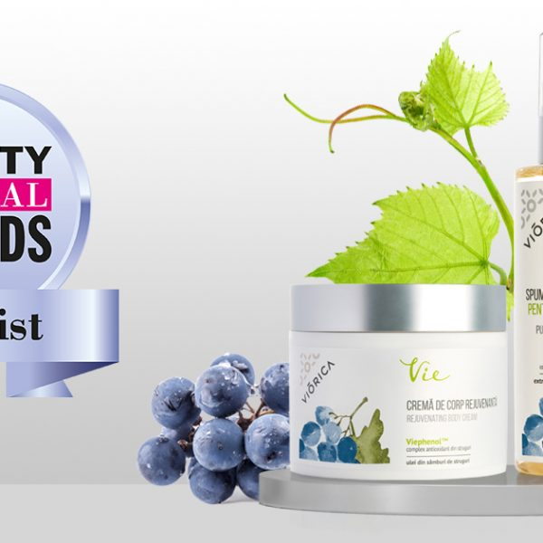 Viorica products have made the final of the prestigious Pure Beauty Global Awards